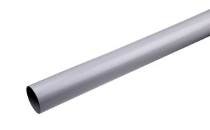 Downspout 75 mm grey 3 m