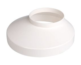 Well collar 75 mm white 130 mm