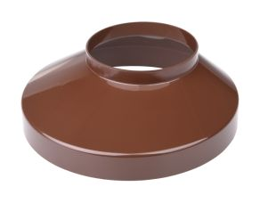 Well collar 90 mm brown 130 mm